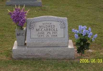 MCCARROLL, MILDRED - Greene County, Arkansas | MILDRED MCCARROLL - Arkansas Gravestone Photos