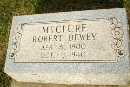 MCCLURE, ROBERT DEWEY - Greene County, Arkansas | ROBERT DEWEY MCCLURE - Arkansas Gravestone Photos