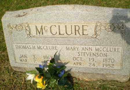 MCCLURE, THOMAS H - Greene County, Arkansas | THOMAS H MCCLURE - Arkansas Gravestone Photos