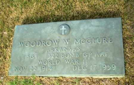 MCCLURE (VETERAN WWII), WOODROW W - Greene County, Arkansas | WOODROW W MCCLURE (VETERAN WWII) - Arkansas Gravestone Photos