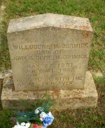 MCCORMICK, WILLODENE - Greene County, Arkansas | WILLODENE MCCORMICK - Arkansas Gravestone Photos