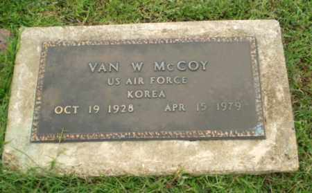 MCCOY  (VETERAN KOR), VAN W - Greene County, Arkansas | VAN W MCCOY  (VETERAN KOR) - Arkansas Gravestone Photos