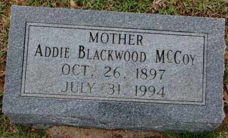 BLACKWOOD MCCOY, ADDIE - Greene County, Arkansas | ADDIE BLACKWOOD MCCOY - Arkansas Gravestone Photos