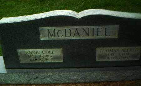 COLE MCDANIEL, ANNIE - Greene County, Arkansas | ANNIE COLE MCDANIEL - Arkansas Gravestone Photos