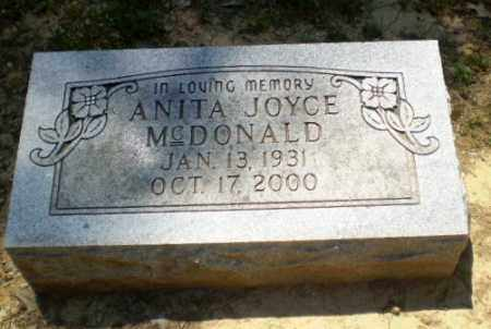 MCDONALD, ANITA JOYCE - Greene County, Arkansas | ANITA JOYCE MCDONALD - Arkansas Gravestone Photos