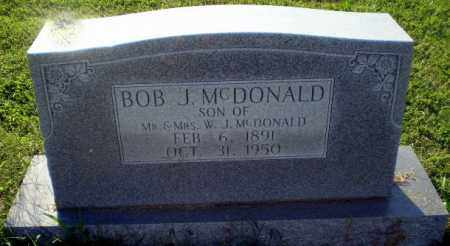 MCDONALD, BOB J - Greene County, Arkansas | BOB J MCDONALD - Arkansas Gravestone Photos