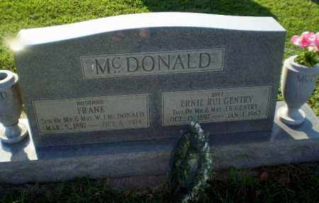 MCDONALD, ERNIE RUI - Greene County, Arkansas | ERNIE RUI MCDONALD - Arkansas Gravestone Photos