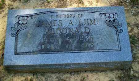 "MCDONALD, JAMES A ""JIM"" - Greene County, Arkansas 