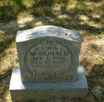 MCDONALD, JESSICA L - Greene County, Arkansas | JESSICA L MCDONALD - Arkansas Gravestone Photos