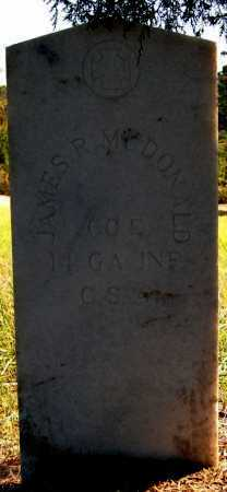 MCDONALD (VETERAN CSA), JAMES R - Greene County, Arkansas | JAMES R MCDONALD (VETERAN CSA) - Arkansas Gravestone Photos