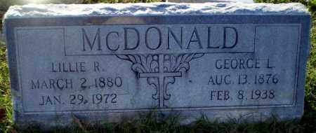 MCDONALD, GEORGE L - Greene County, Arkansas | GEORGE L MCDONALD - Arkansas Gravestone Photos