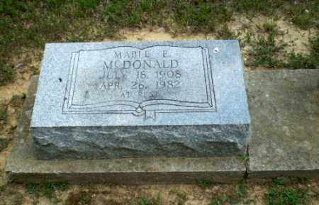 MCDONALD, MABLE E - Greene County, Arkansas | MABLE E MCDONALD - Arkansas Gravestone Photos