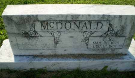 MCDONALD, T.R. - Greene County, Arkansas | T.R. MCDONALD - Arkansas Gravestone Photos