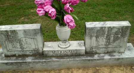 MCDONALD, WOODROW - Greene County, Arkansas | WOODROW MCDONALD - Arkansas Gravestone Photos