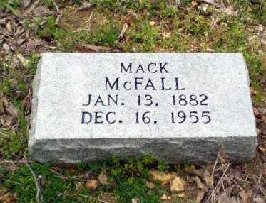 MCFALL, MACK - Greene County, Arkansas | MACK MCFALL - Arkansas Gravestone Photos