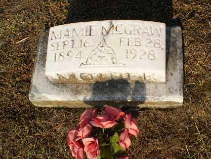 MCGRAW, MAMIE - Greene County, Arkansas | MAMIE MCGRAW - Arkansas Gravestone Photos