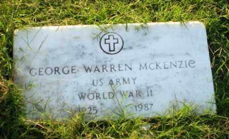 MCKENZIE  (VETERAN WWII), GEORGE WARREN - Greene County, Arkansas | GEORGE WARREN MCKENZIE  (VETERAN WWII) - Arkansas Gravestone Photos