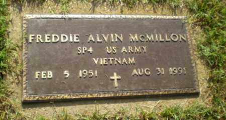 MCMILLON  (VETERAN VIET), FREDDIE ALVIN - Greene County, Arkansas | FREDDIE ALVIN MCMILLON  (VETERAN VIET) - Arkansas Gravestone Photos