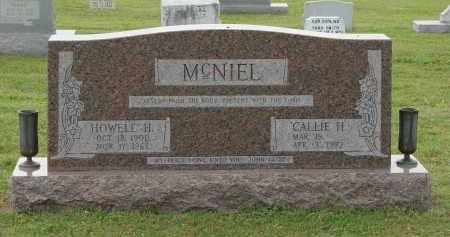 HESTER MCNIEL, CALLIE - Greene County, Arkansas | CALLIE HESTER MCNIEL - Arkansas Gravestone Photos