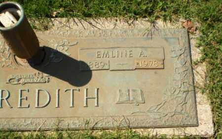 MEREDITH, EMLINE A - Greene County, Arkansas | EMLINE A MEREDITH - Arkansas Gravestone Photos