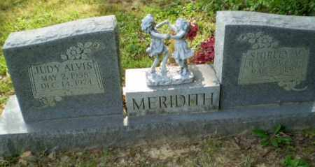 MEREDITH, JUDY ALVIS - Greene County, Arkansas | JUDY ALVIS MEREDITH - Arkansas Gravestone Photos