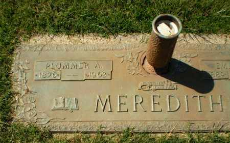 MEREDITH, PLUMMER A - Greene County, Arkansas | PLUMMER A MEREDITH - Arkansas Gravestone Photos