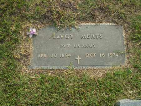 MERTS (VETERAN), LAVOY - Greene County, Arkansas | LAVOY MERTS (VETERAN) - Arkansas Gravestone Photos