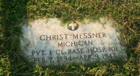 MESSNER  (VETERAN), CHRIST - Greene County, Arkansas | CHRIST MESSNER  (VETERAN) - Arkansas Gravestone Photos