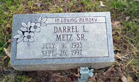 METZ, DARREL - Greene County, Arkansas | DARREL METZ - Arkansas Gravestone Photos