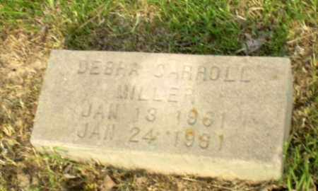MILLER, DEBRA CARROLL - Greene County, Arkansas | DEBRA CARROLL MILLER - Arkansas Gravestone Photos
