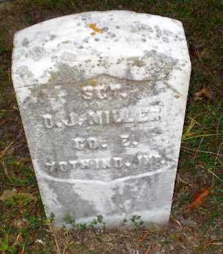 MILLER (VETERAN UNION), DANIEL J - Greene County, Arkansas | DANIEL J MILLER (VETERAN UNION) - Arkansas Gravestone Photos