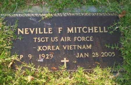 MITCHELL  (VETERAN 2 WARS), NEVILLE F - Greene County, Arkansas | NEVILLE F MITCHELL  (VETERAN 2 WARS) - Arkansas Gravestone Photos