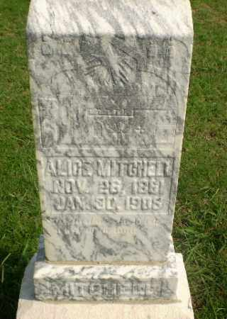 MITCHELL, ALICE - Greene County, Arkansas | ALICE MITCHELL - Arkansas Gravestone Photos