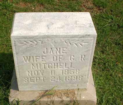 MITCHELL, JANE - Greene County, Arkansas | JANE MITCHELL - Arkansas Gravestone Photos