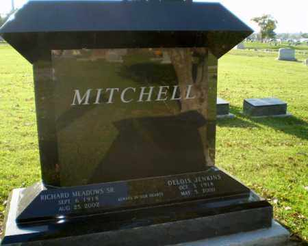 MITCHELL, SR, RICHARD MEADOWS - Greene County, Arkansas | RICHARD MEADOWS MITCHELL, SR - Arkansas Gravestone Photos