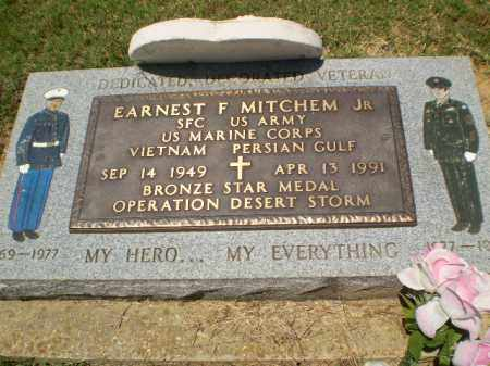 MITCHEM  (VETERAN 2 WARS), EARNEST F - Greene County, Arkansas | EARNEST F MITCHEM  (VETERAN 2 WARS) - Arkansas Gravestone Photos