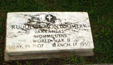 MONTGOMERY  (VETERAN WWII), RUDOLPH - Greene County, Arkansas | RUDOLPH MONTGOMERY  (VETERAN WWII) - Arkansas Gravestone Photos