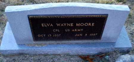 MOORE (VETERAN), ELVA WAYNE - Greene County, Arkansas | ELVA WAYNE MOORE (VETERAN) - Arkansas Gravestone Photos
