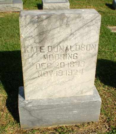 DONALDSON MOORING, KATE - Greene County, Arkansas | KATE DONALDSON MOORING - Arkansas Gravestone Photos