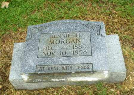 MORGAN, JENNIE H - Greene County, Arkansas | JENNIE H MORGAN - Arkansas Gravestone Photos
