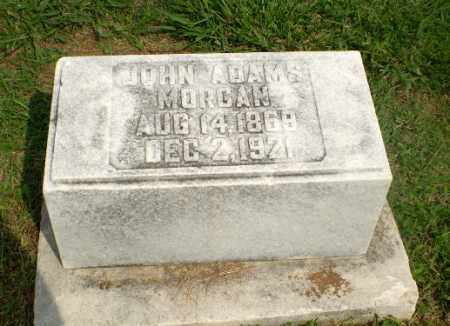 MORGAN, JOHN ADAMS - Greene County, Arkansas | JOHN ADAMS MORGAN - Arkansas Gravestone Photos
