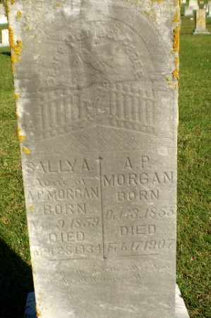 MORGAN, SALLY A - Greene County, Arkansas | SALLY A MORGAN - Arkansas Gravestone Photos