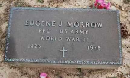 MORROW (VETERAN WWII), EUGENE J - Greene County, Arkansas | EUGENE J MORROW (VETERAN WWII) - Arkansas Gravestone Photos