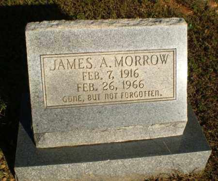 MORROW, JAMES A - Greene County, Arkansas | JAMES A MORROW - Arkansas Gravestone Photos