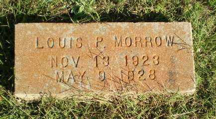 MORROW, LOUIS P - Greene County, Arkansas | LOUIS P MORROW - Arkansas Gravestone Photos