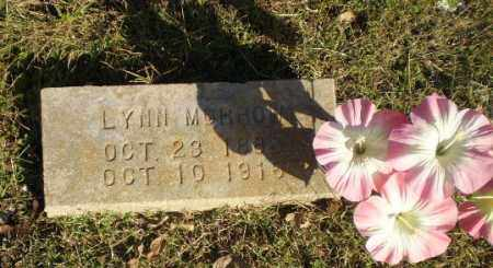 MORROW, LYNN - Greene County, Arkansas | LYNN MORROW - Arkansas Gravestone Photos