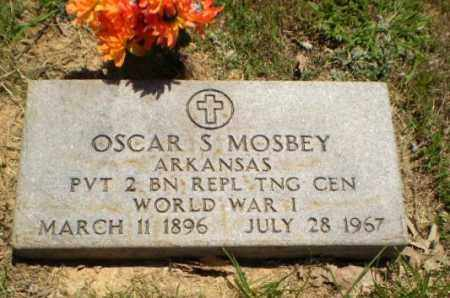 MOSBEY  (VETERAN WWI), OSCAR S - Greene County, Arkansas | OSCAR S MOSBEY  (VETERAN WWI) - Arkansas Gravestone Photos