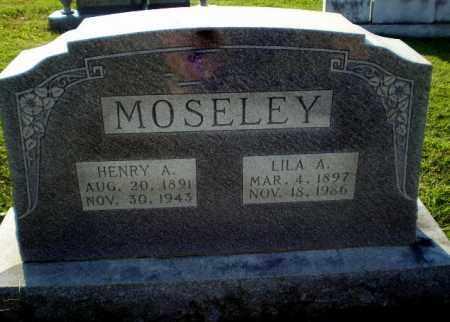 MOSELEY, HENRY A - Greene County, Arkansas | HENRY A MOSELEY - Arkansas Gravestone Photos
