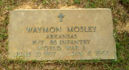 MOSLEY  (VETERAN WWI), WAYMON - Greene County, Arkansas | WAYMON MOSLEY  (VETERAN WWI) - Arkansas Gravestone Photos