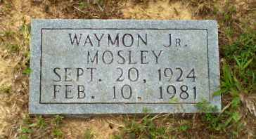 MOSLEY, JR, WAYMON - Greene County, Arkansas | WAYMON MOSLEY, JR - Arkansas Gravestone Photos